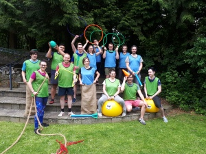 Happy mobile personal training and hen do activities